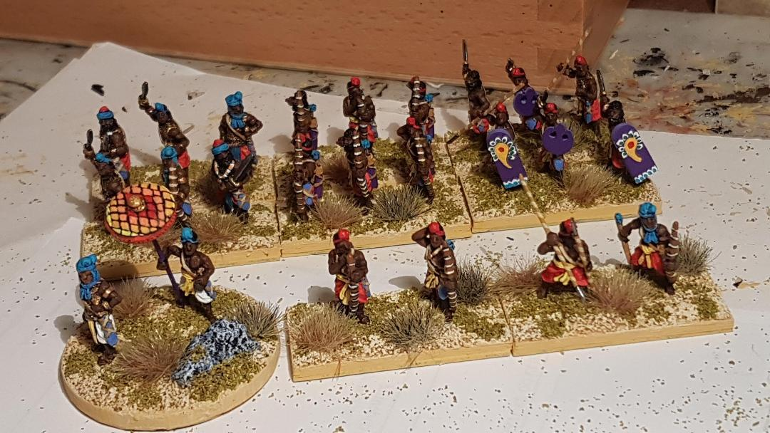Nicolas - Général Indien avec son escorte