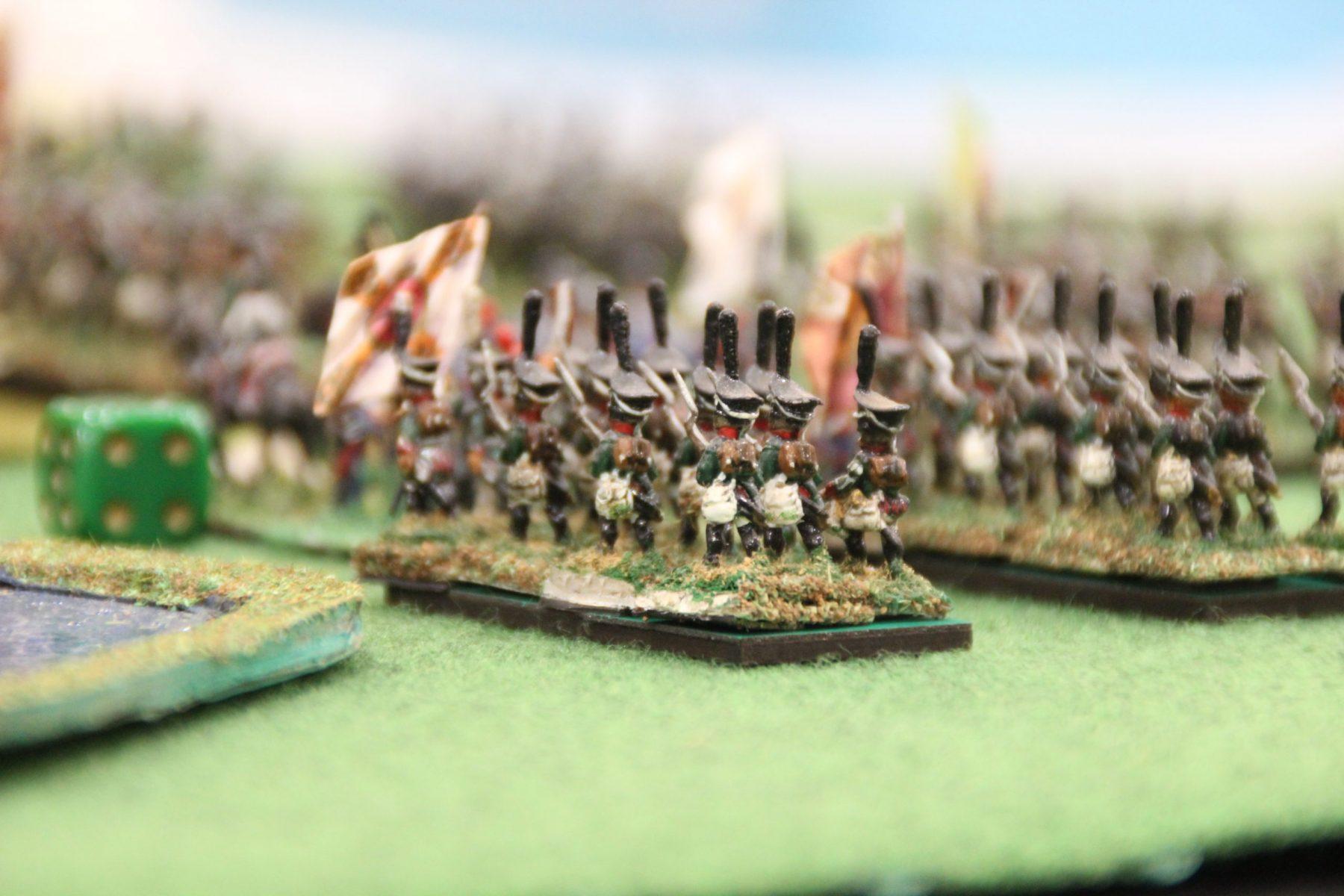 Unité russe en formation.