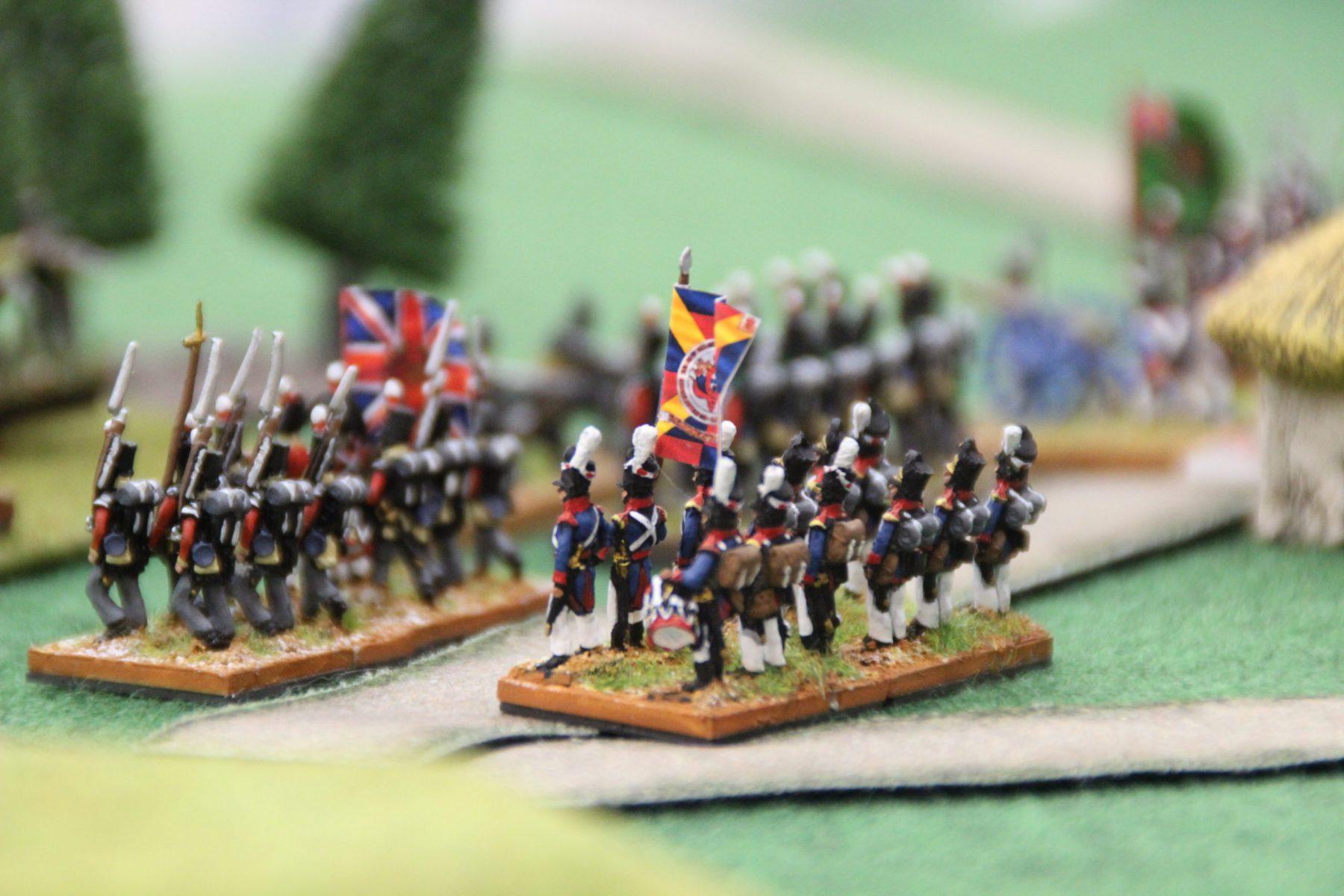 L'infanterie anglaise marche sur les russes !