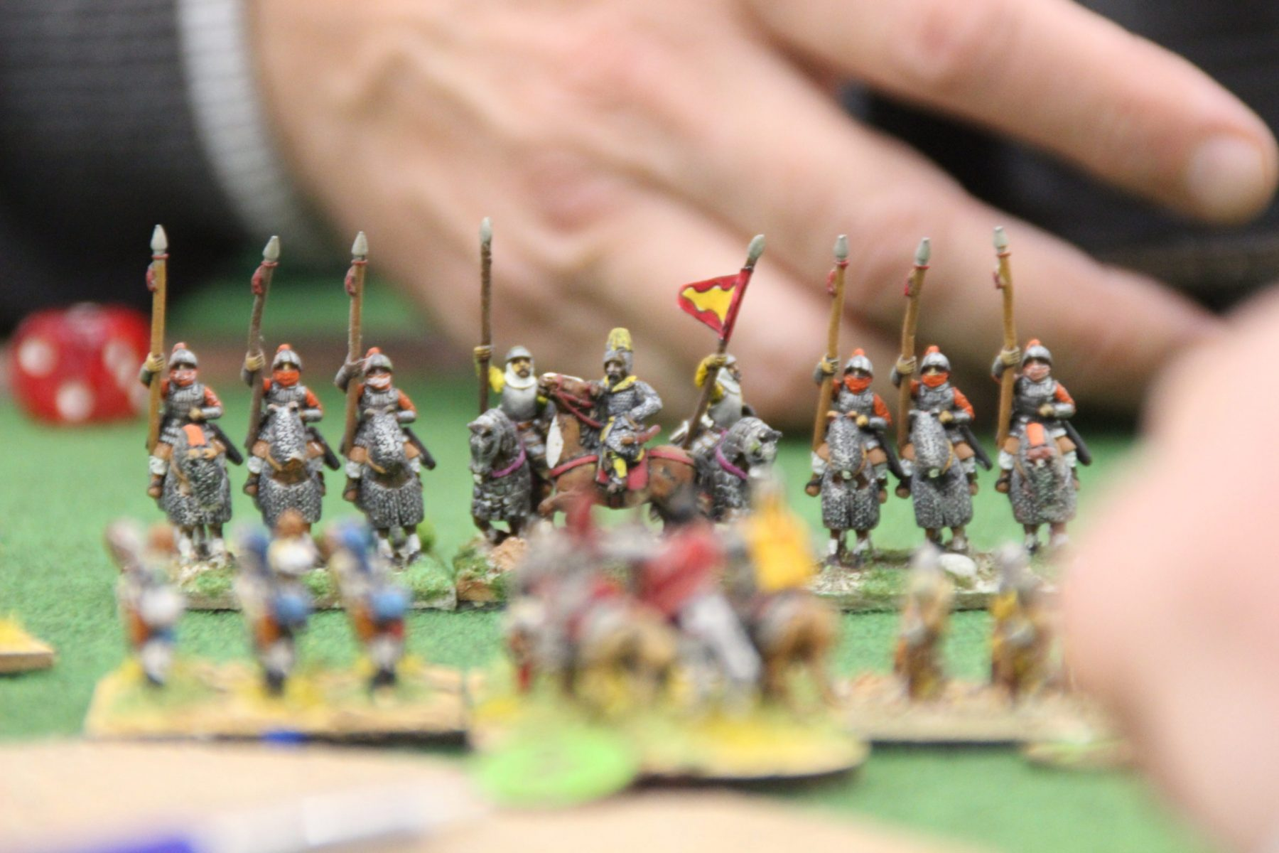 Des chevaliers Ghaznévides en pleine charge.