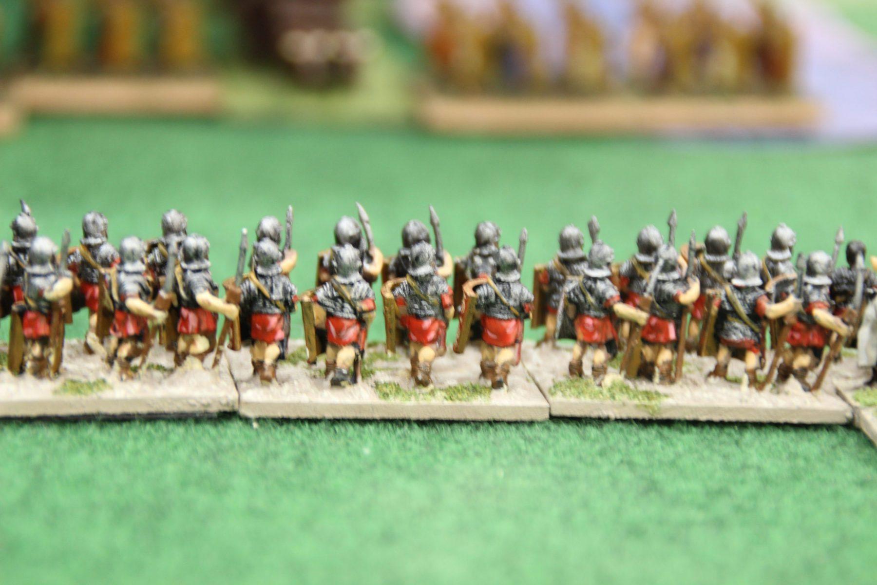 Lé légion haut empire se rapproche dangereusement des positions indiennes...