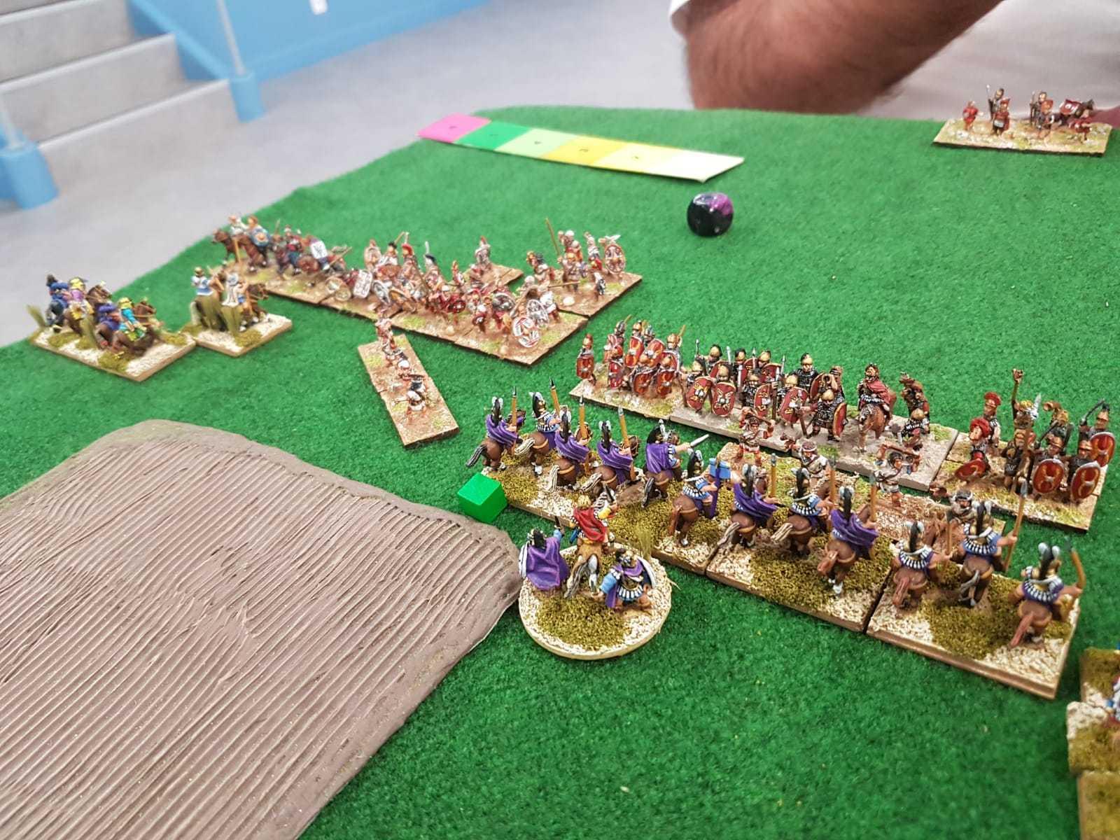 L'armée Séleucide, bien que puissante, semble débordée par d'innombrables Espagnols.