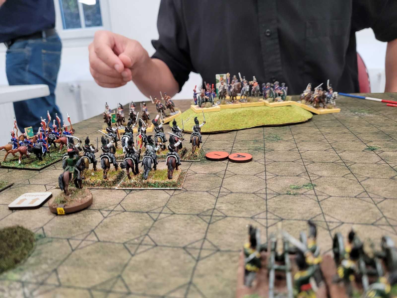 La cavalerie Russe charge !