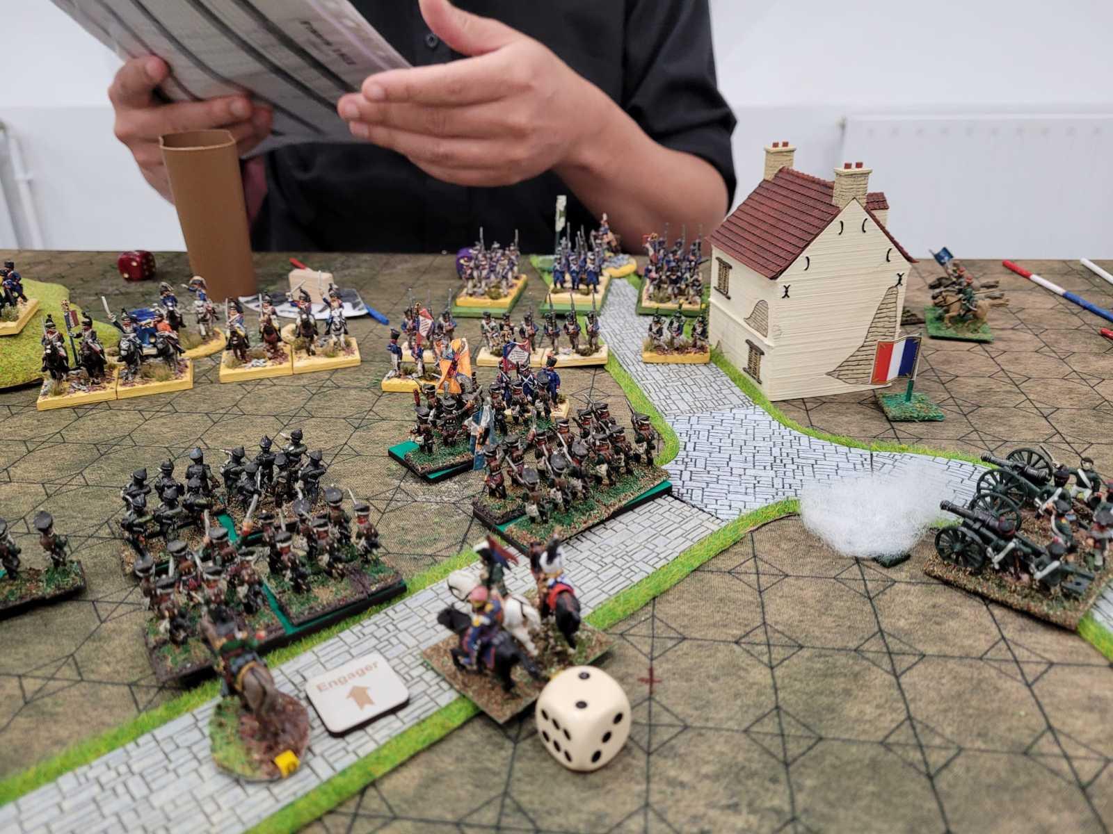 Un point de règle à éclaircir avant de compter les morts sur un champ de bataille très dense...