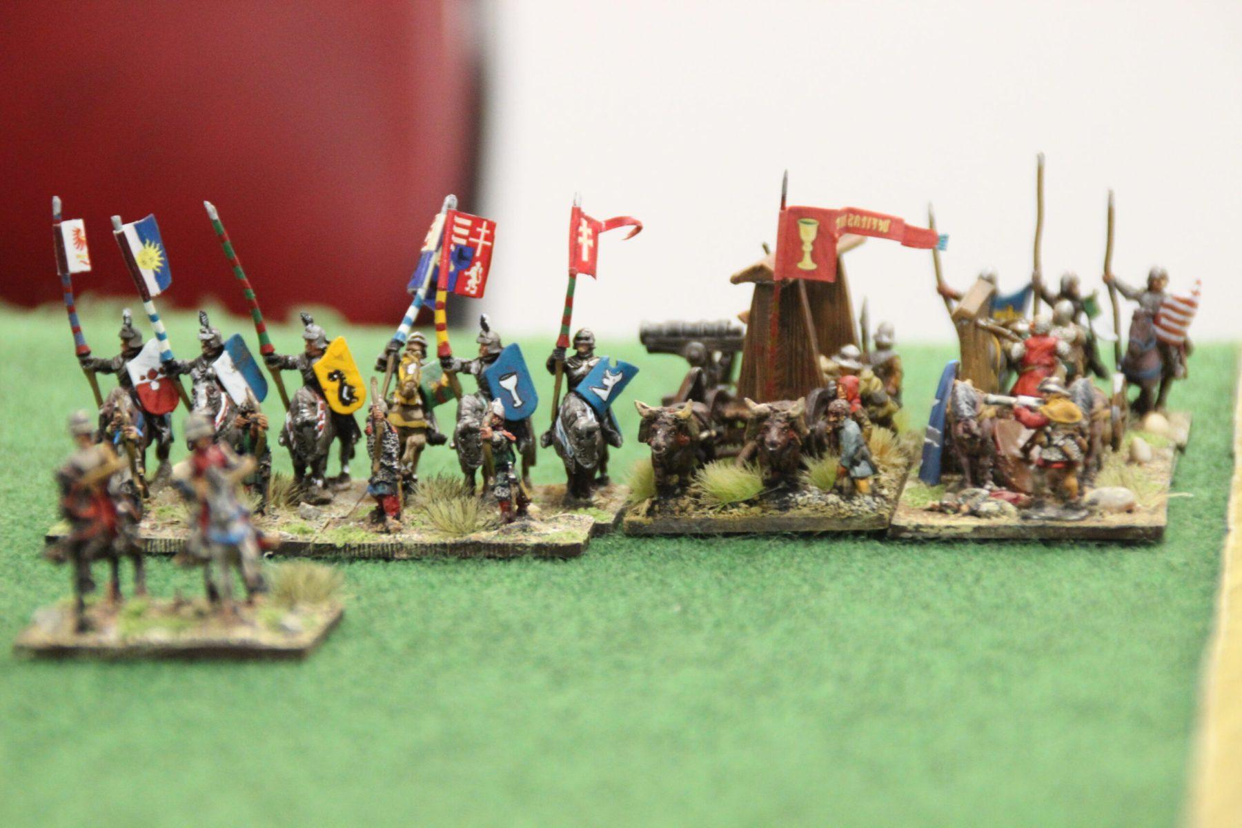 Les Hussites ont sorti les chariots de guerre !