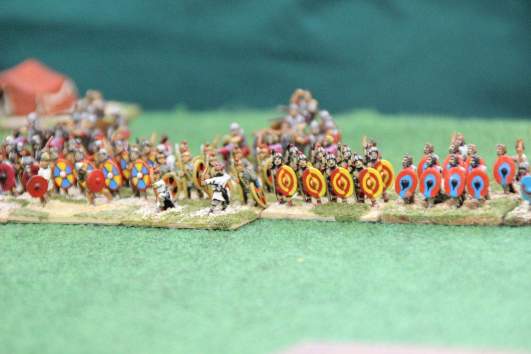 Des auxiliaires Romains Bas-Empire.