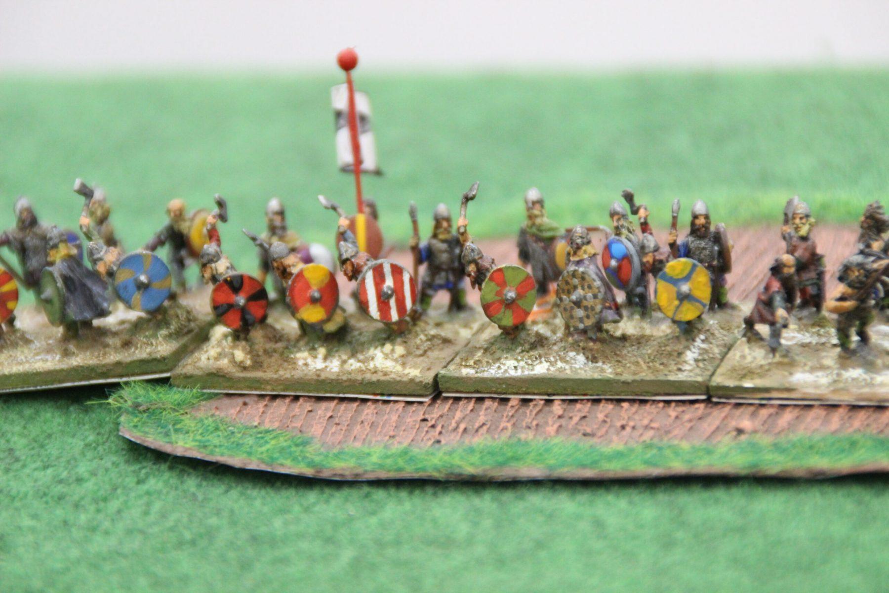 De redoutables Huscarls Vikings sonnent le rassemblement.
