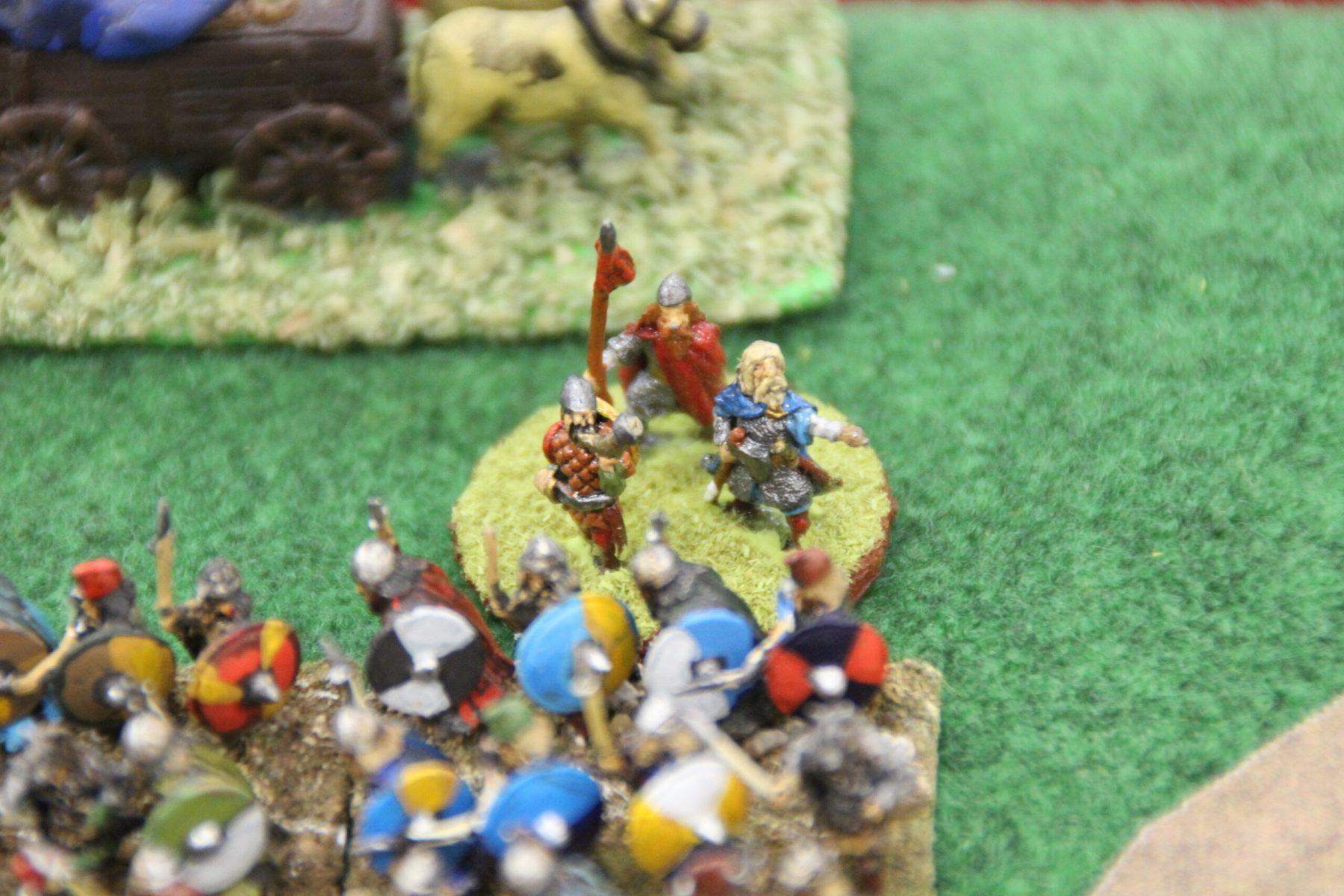Le stratège Ivar Ragnarsson est présent sur le champ de bataille.