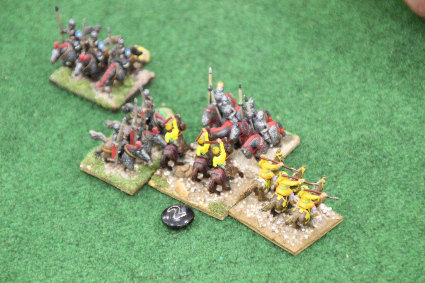 Une unité de cavalerie Perse en fâcheuse posture.