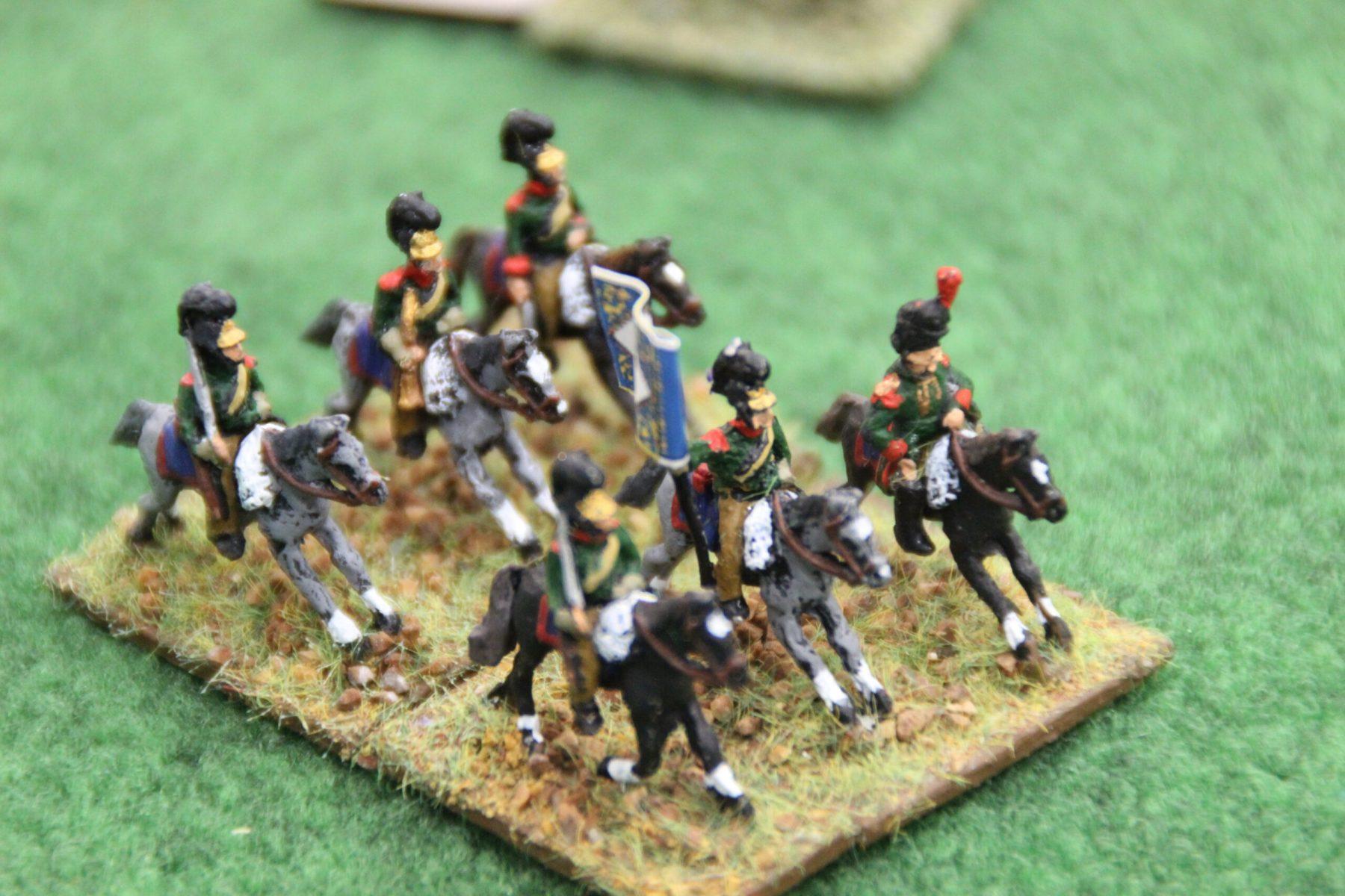 Une unité de cavalerie Franco-Polonaise.