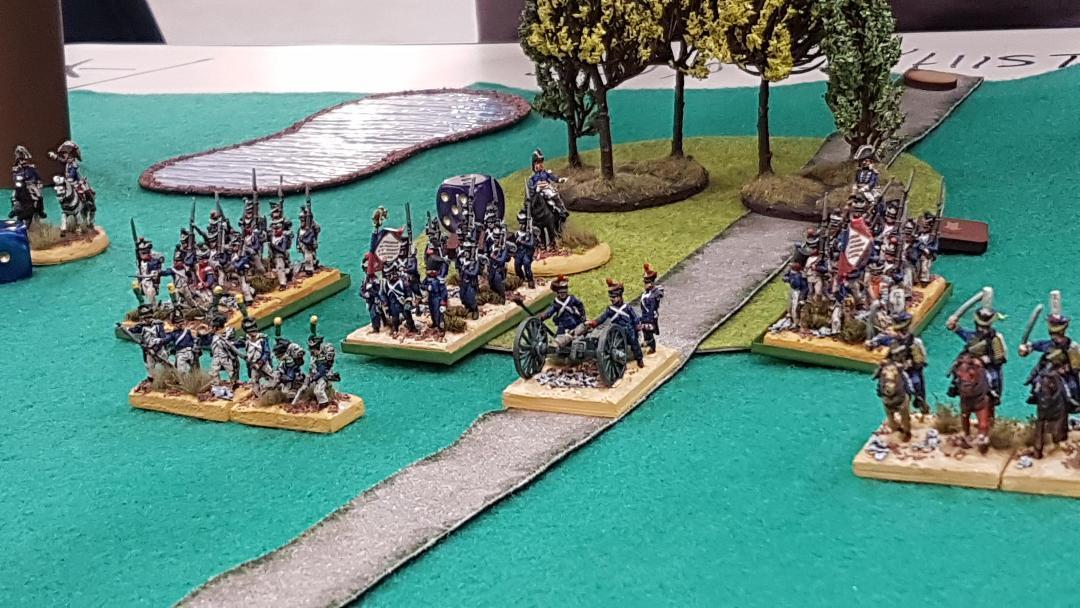 Division d'infanterie Française.