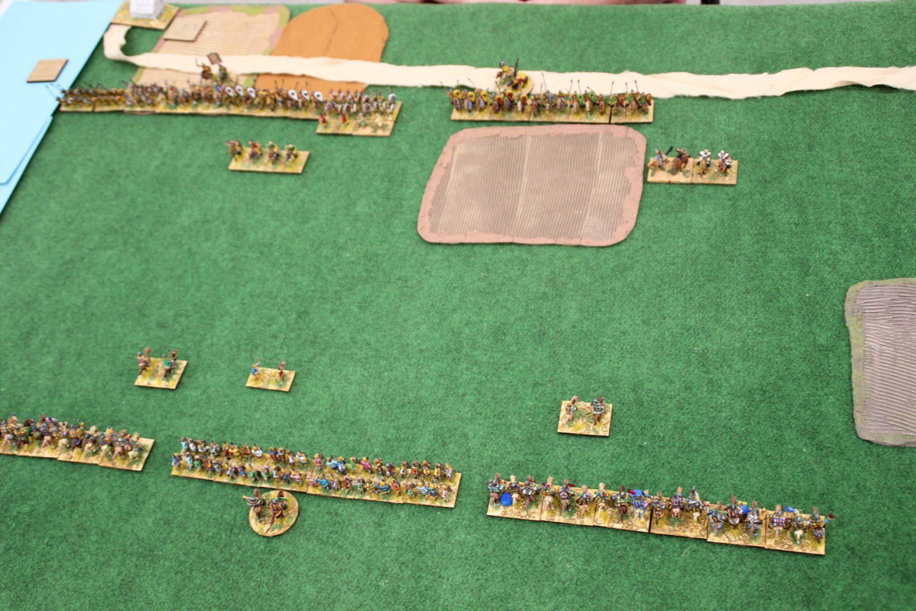 Les Francs Carolingiens font face aux Byzantins Comnène.