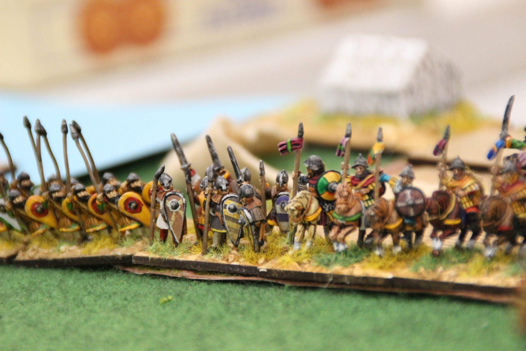 Lanciers lourds et chevaliers Byzantins Comnène.