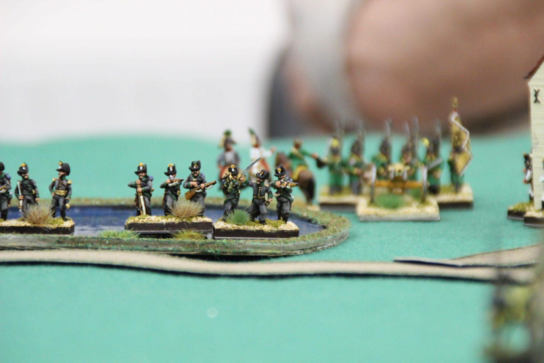 Des carabines Autrichiennes embusquées dans un marécage.