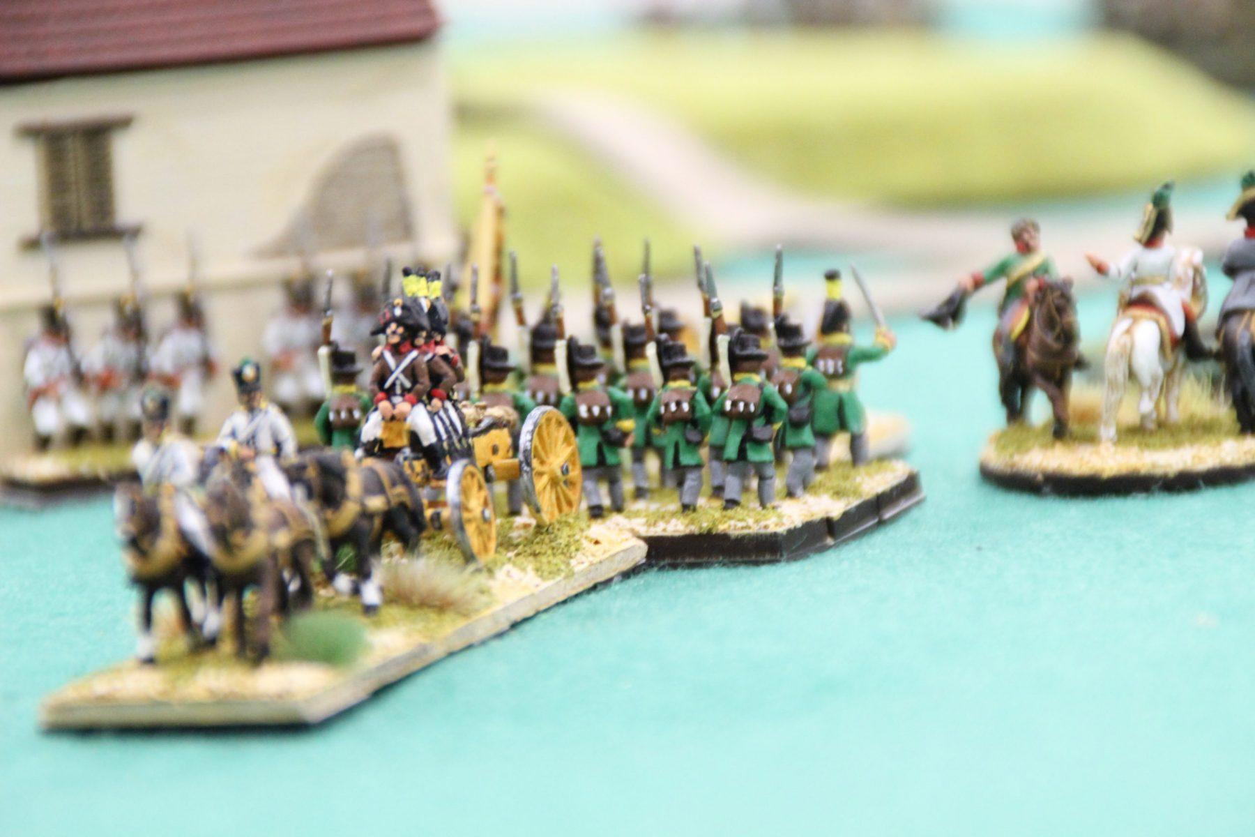 Les Autrichiens à la manœuvre.