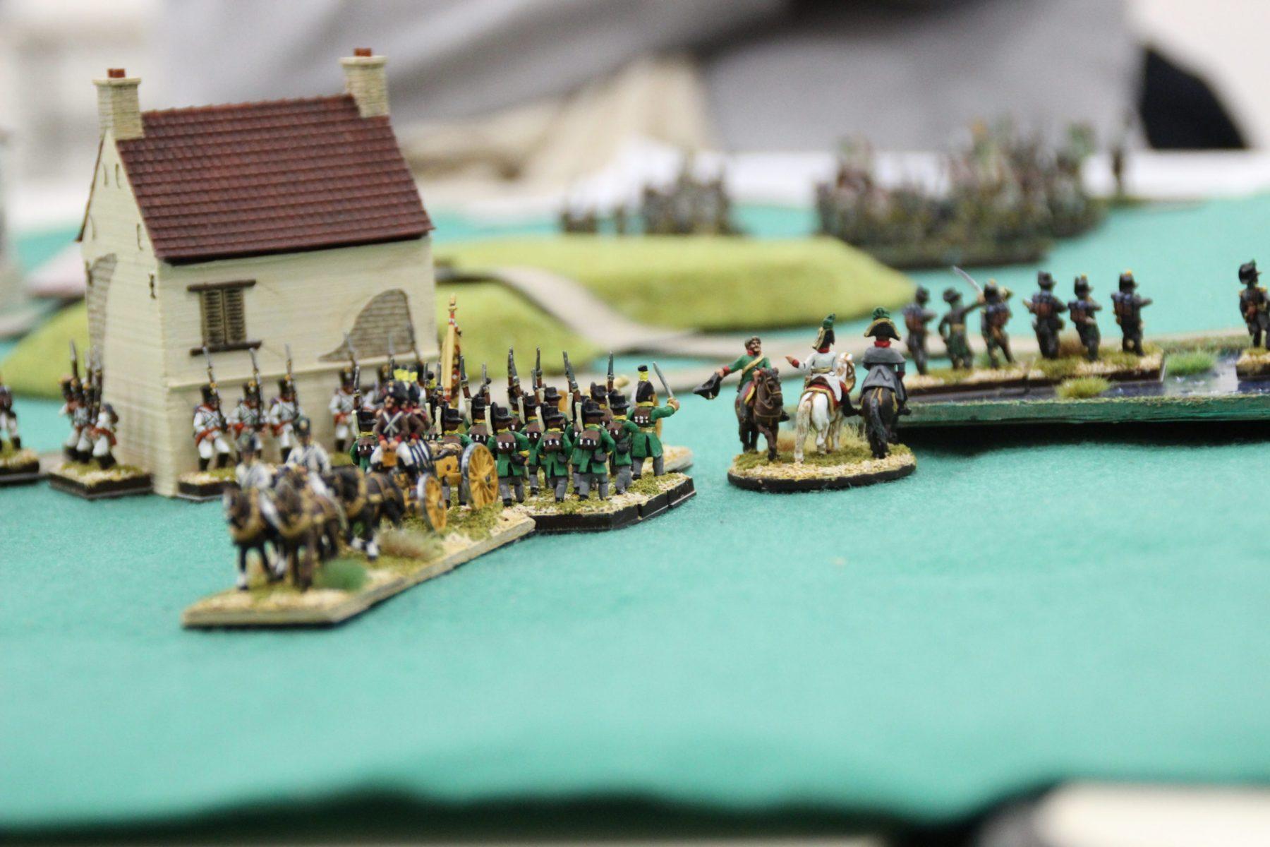 Le général Autrichien contemple le calme avant la tempête...