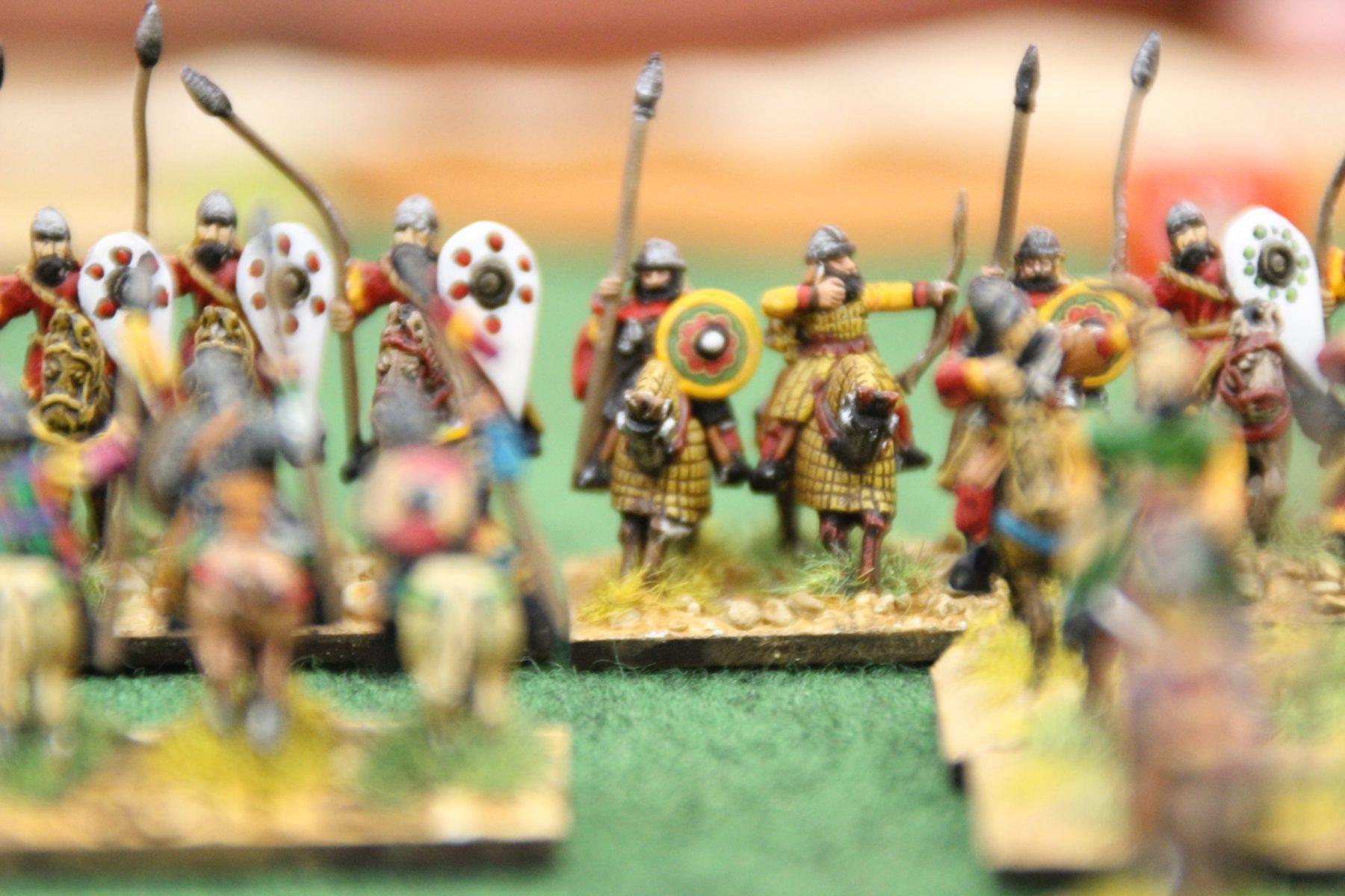 Avantage aux chevaliers Byzantins...