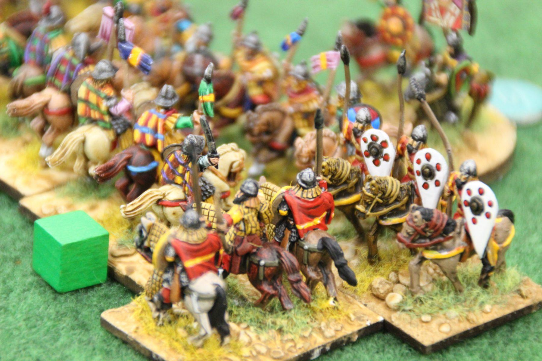 La cavalerie des Francs est prise sur le flanc !