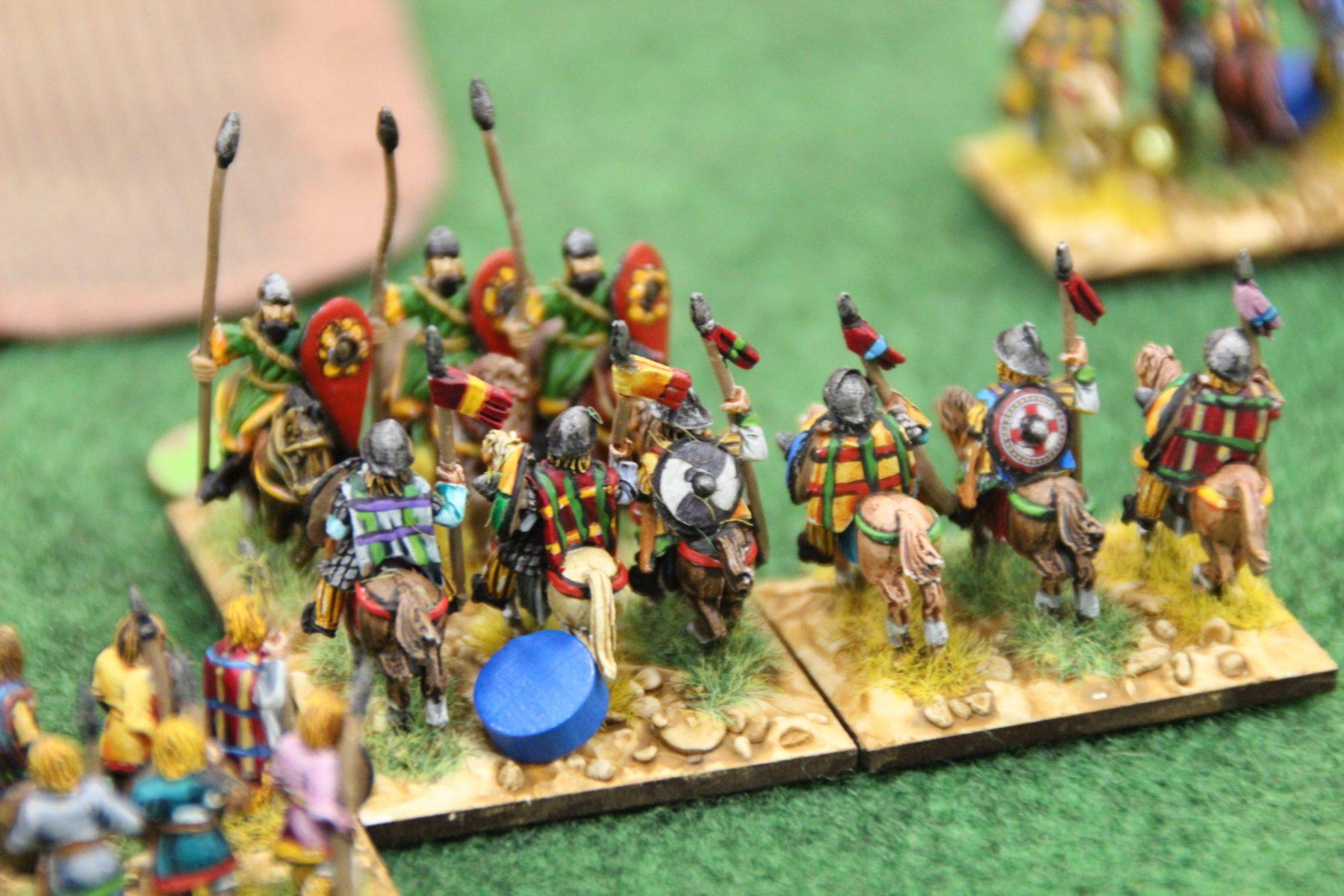Les derniers instants d'une unité de chevaliers Byzantins isolée.