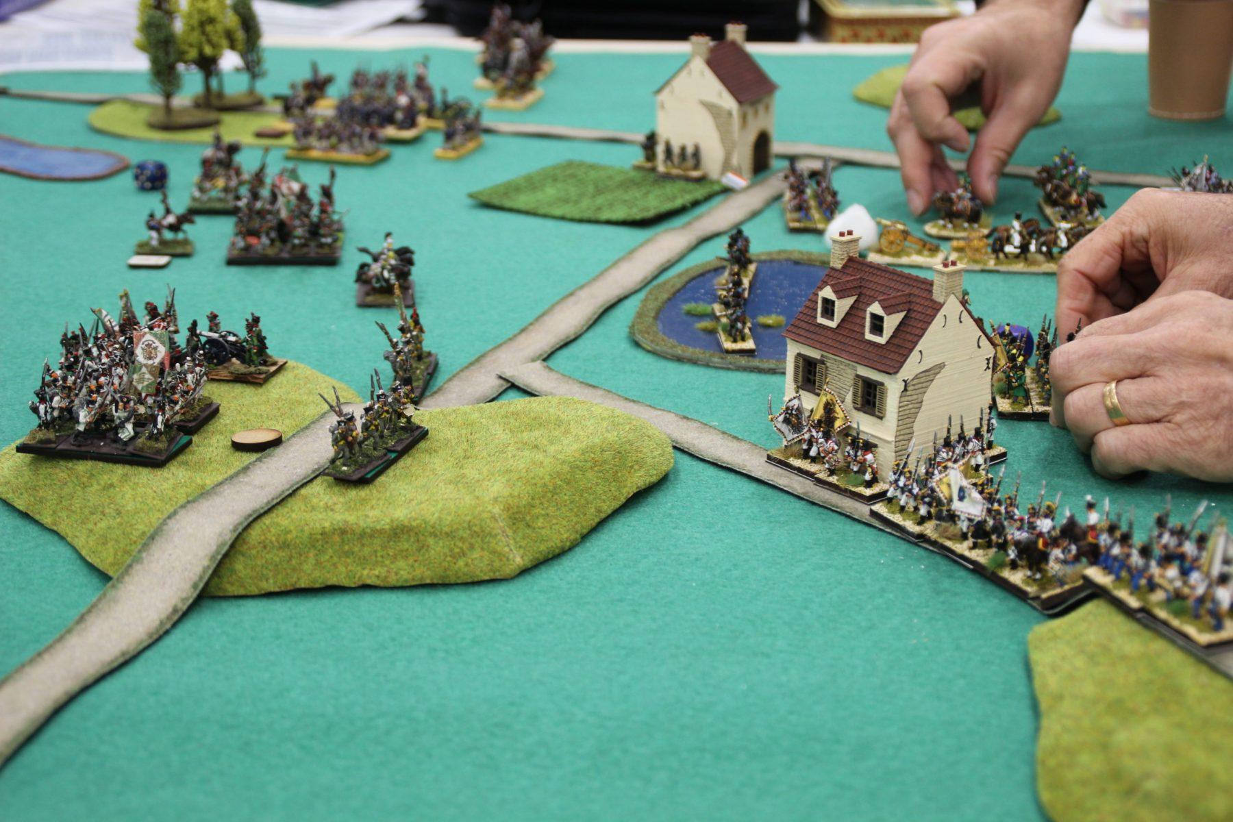 Les généraux Autrichiens en pleine action.