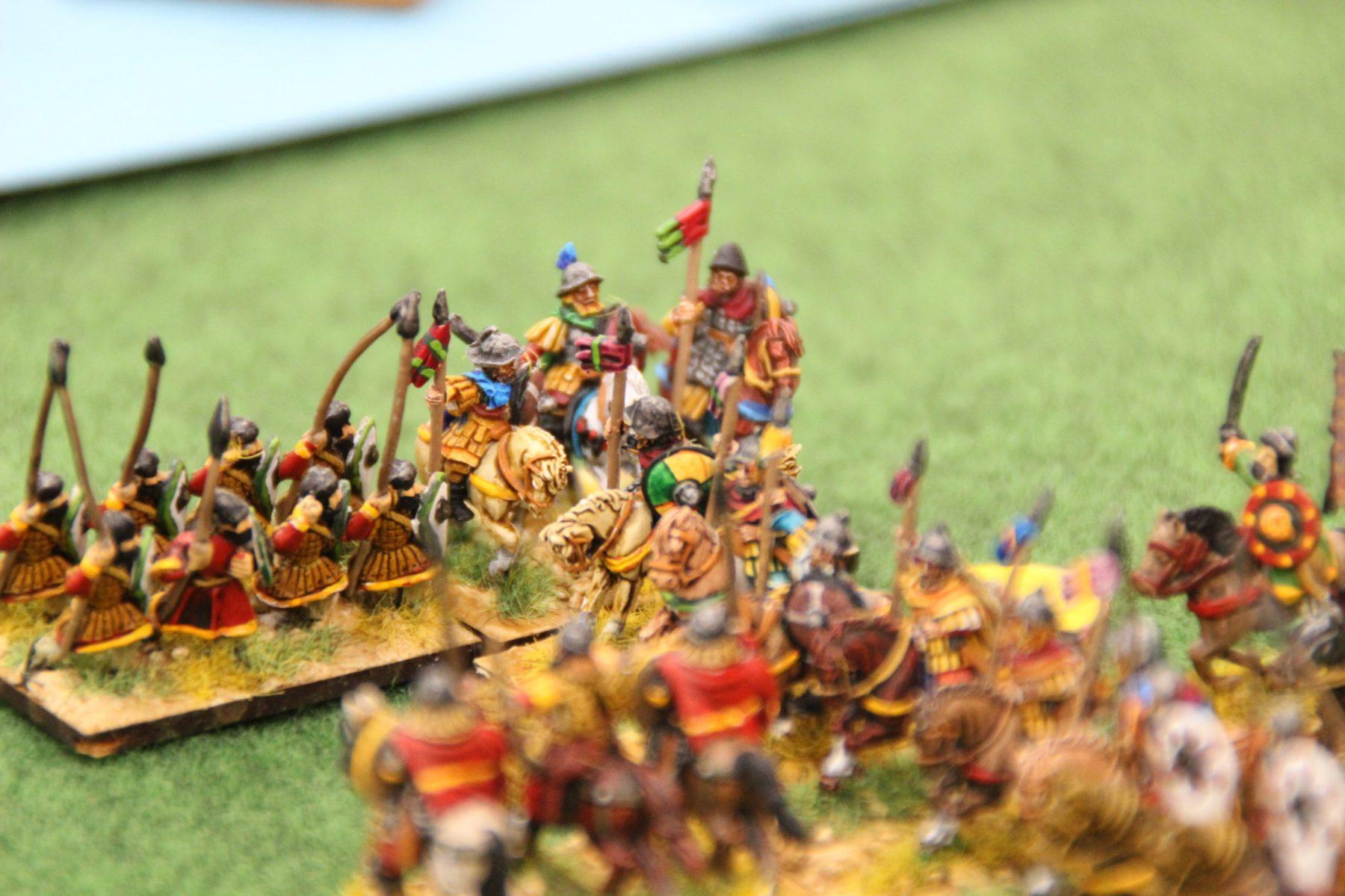 La dernière unité de cavalerie Lourde des Francs en mauvaise posture.