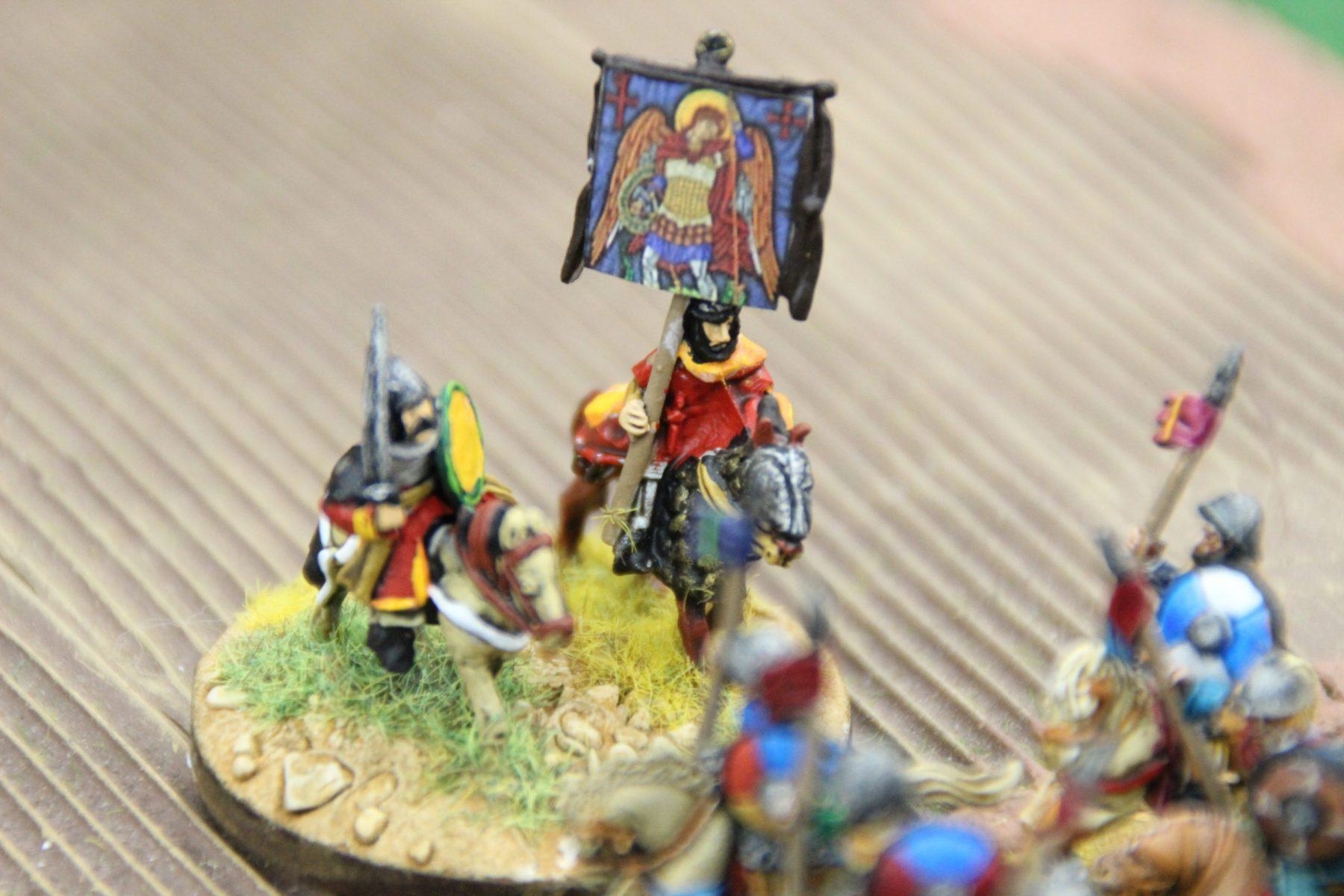 Le général Byzantin savoure sa victoire.
