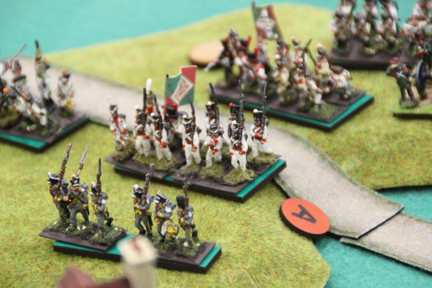L'armée Italienne se déplace rapidement.