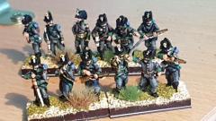 Nicolas - Infanterie légère Jaegers