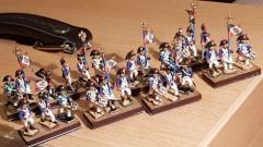 Nicolas - Têtes de colonnes (tambour, drapeau, officier)